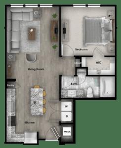 A4.1 785 SF 4114 Addison at Gateway Graphic Unit Plans-19
