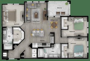 C4 1461 SF 4114 Addison at Gateway Graphic Unit Plans-25