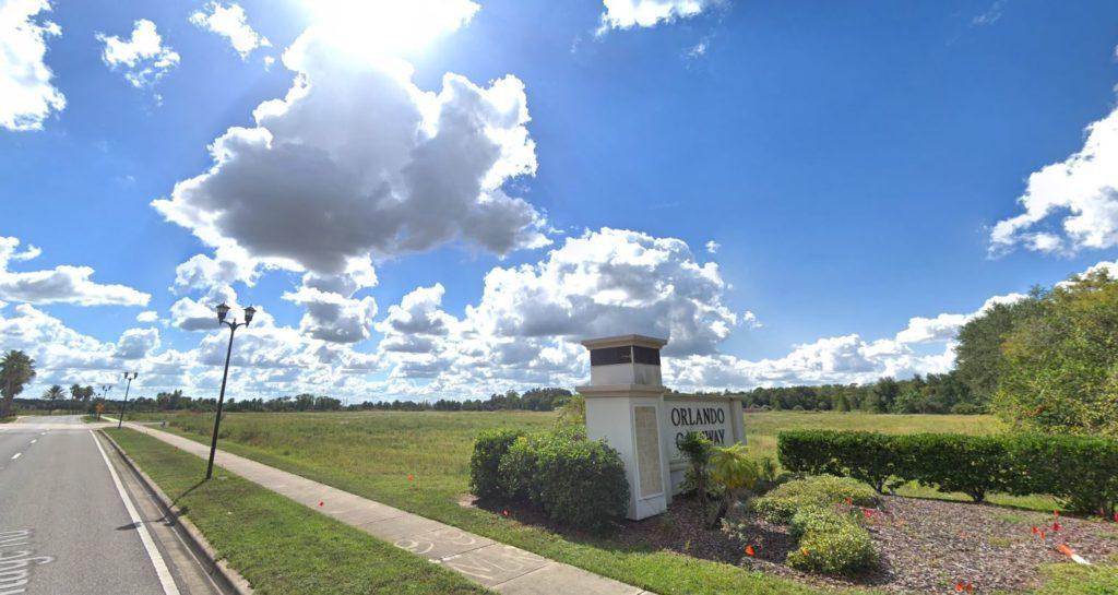 The Addison Gateway Site Photo