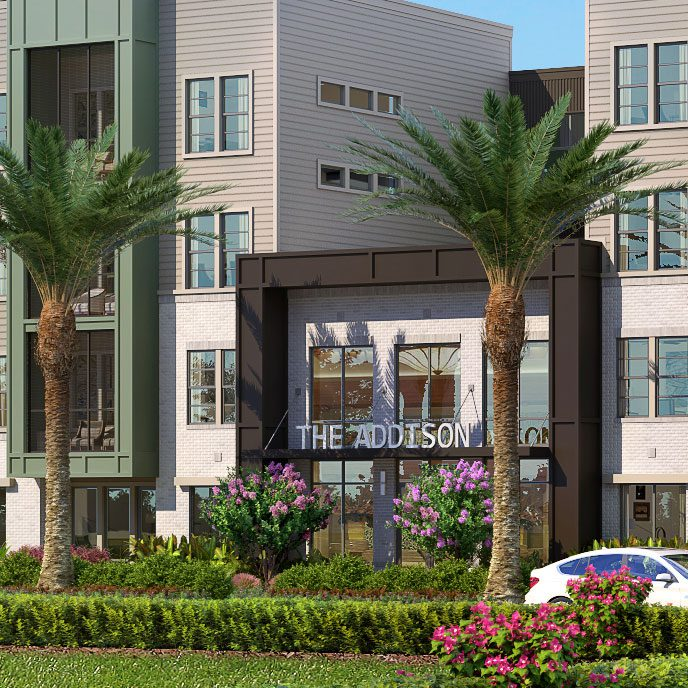 The Addison at Gateway rendering Orlando Florida luxury apartment homes