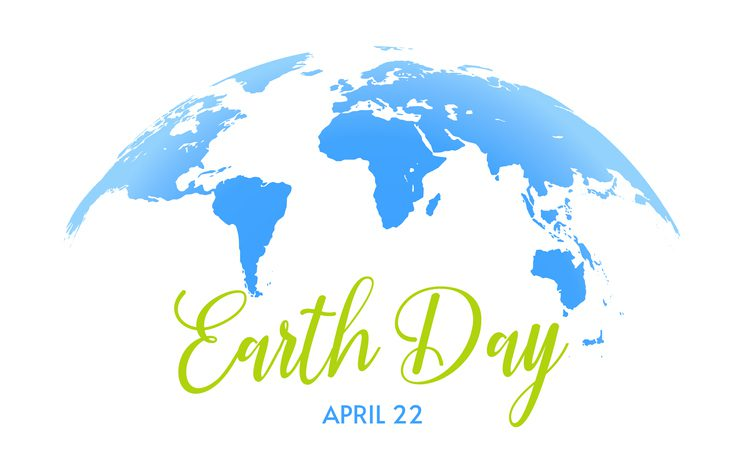 Earth Day Save the planet, Blue Earth Day